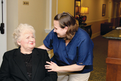 senior care at Spectrum Retirement Communities