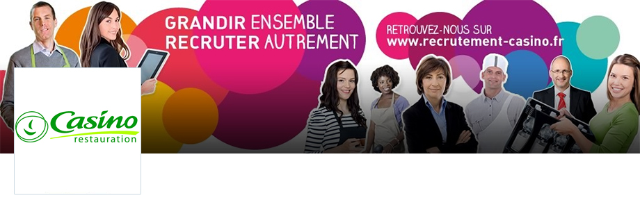 Offre d 39 emploi propos e par casino restauration chef for Alternance restauration collective