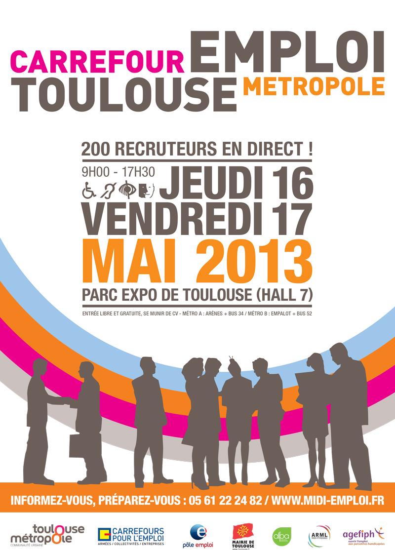rdv au forum toulouse m u00e9tropole pour l u0026 39 emploi le 17 mai  u2013 les conseils emploi et carri u00e8re