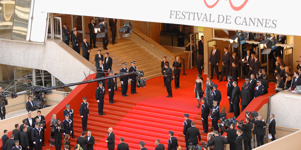 Tapis rouge à l'IT au festival de Cannes
