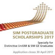 SIM Postgraduate Scholarship