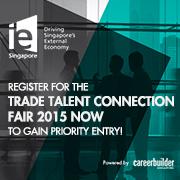 JobsCentral - IE Singapore Trade Talent Connection Fair 2015