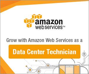Be a Data Center Technician with Amazon today!