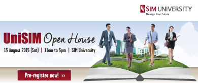 UniSIM - JOIN US FOR OUR OPEN HOUSE!