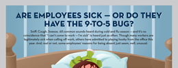 Are employees sick?