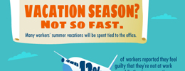 Vacation Season infographic