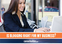 Is Blogging Right for My Business?