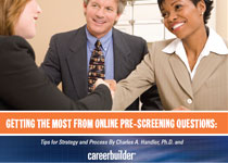 Getting the Most from Online Pre-Screening Questions