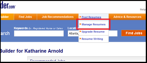 Hirerocket post job employers resume