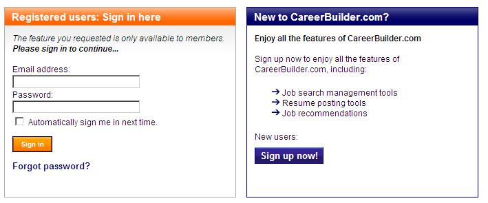 career builder resume search