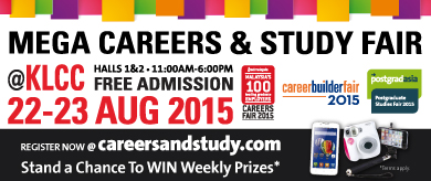 Mega Careers and Study Fair 2015 at KLCC