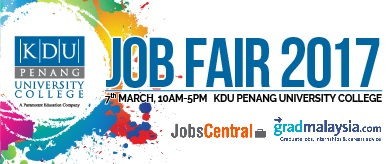 KDU Penang University College - Job Fair 2017